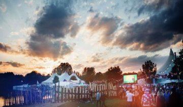 Musikfestival in Moosburg bei München