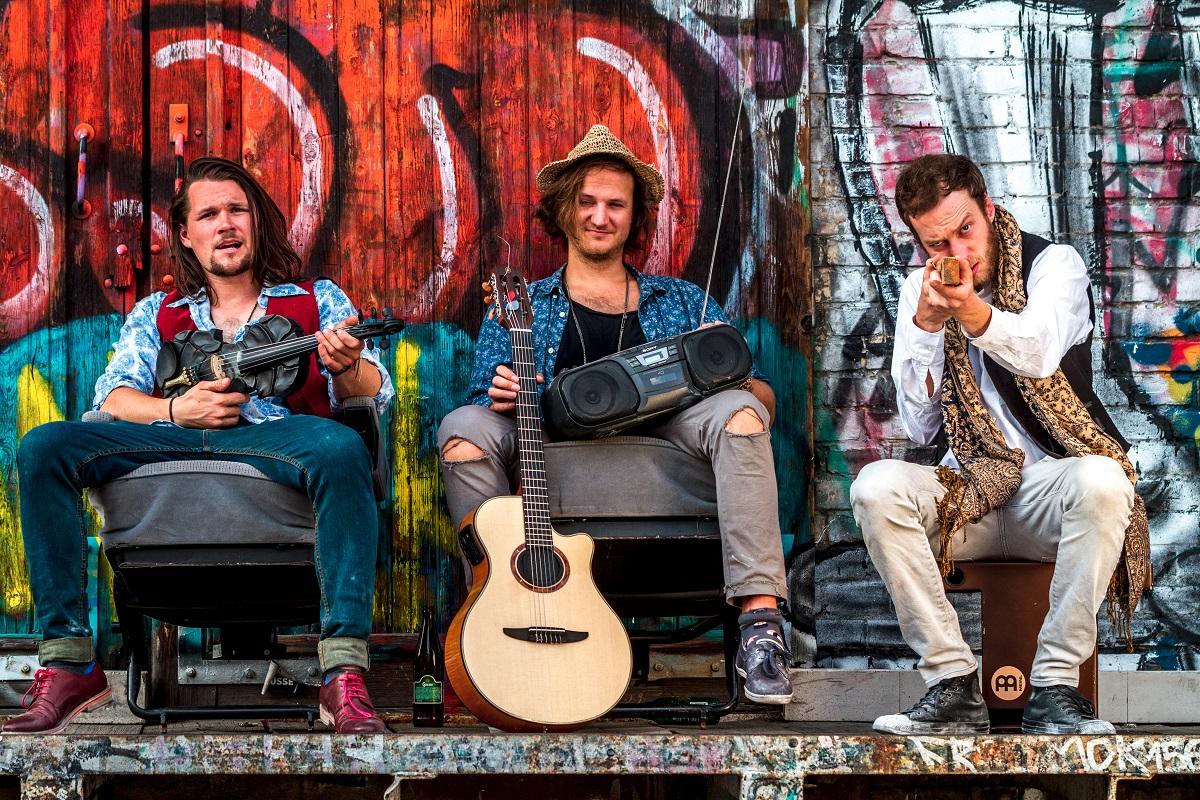 Drei Musiker aus Berlin