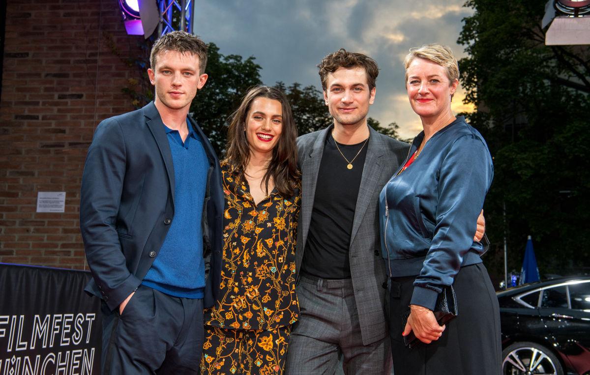 Schauspiel-Quartett auf dem Filmfest München