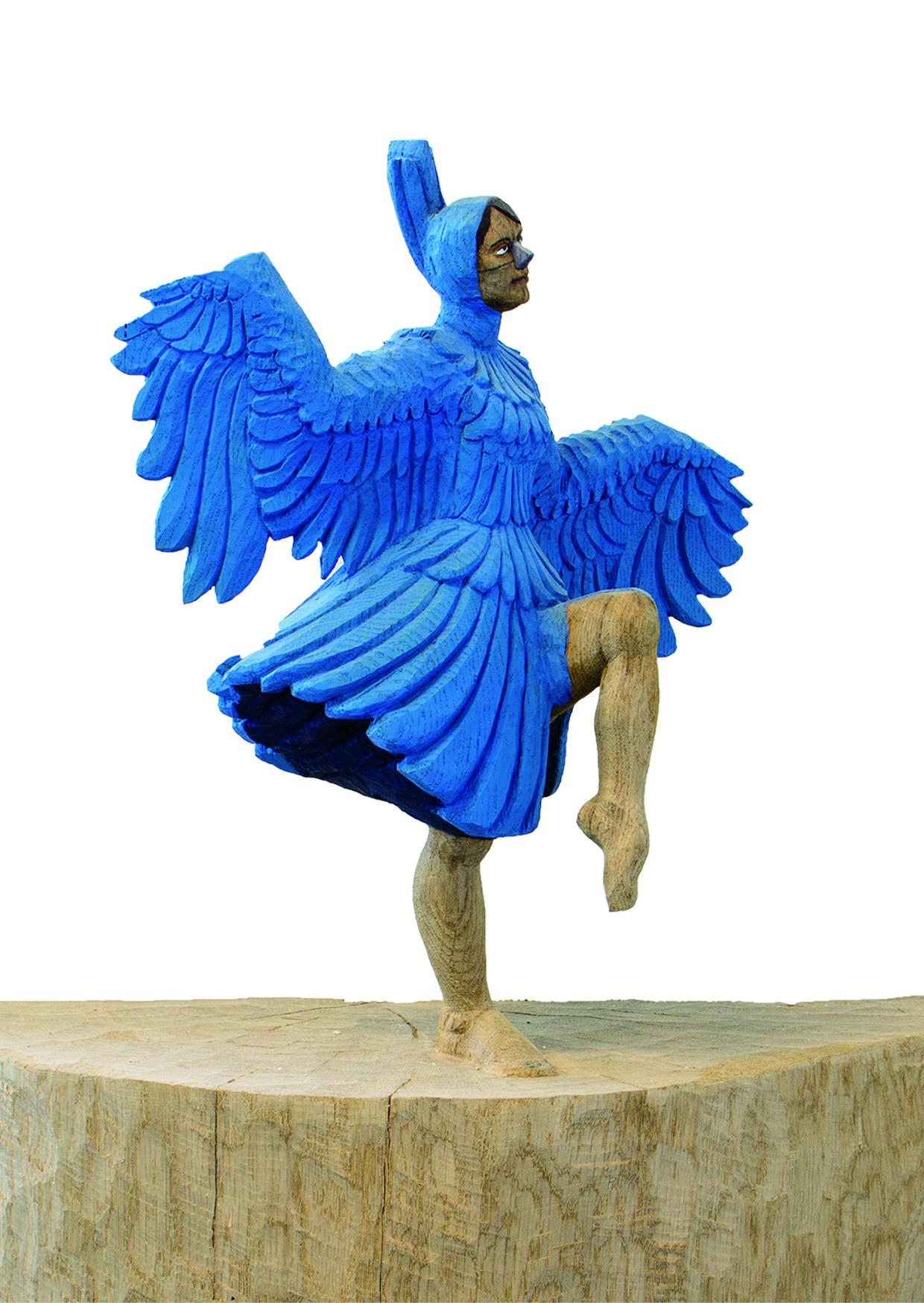 Bilder,Skulpturen, digitale Kunstwerke gibt es auf der ARTMUC zu sehen.