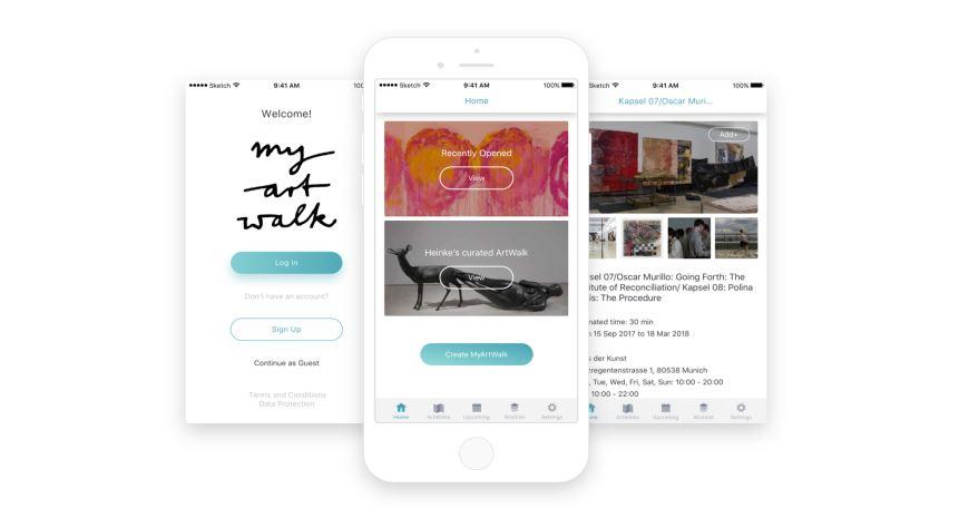 Ein App für Kunstliebhaber