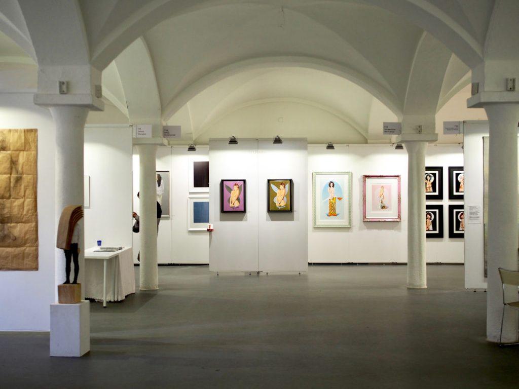 Die ARTMUC Messe ist eine Kunstausstellung in München für zeitgenössische Kunst