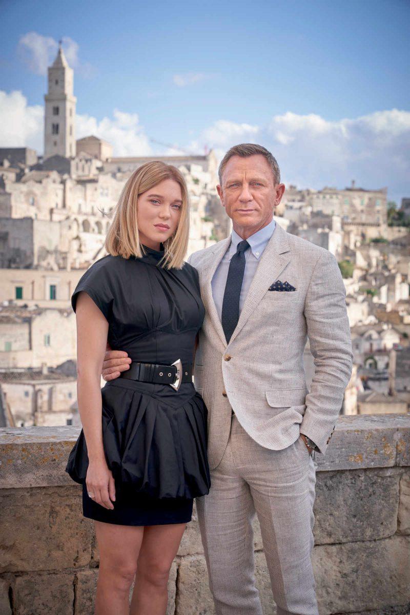 Trailer zu Keine Zeit zu Sterben. Zu sehen sind Daniel Craig und Léa Seydoux